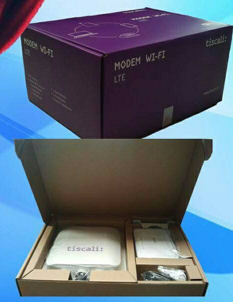 modem outdoor tiscali 4G